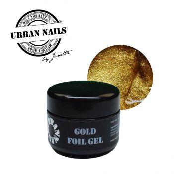 Urban Nails Folie Gel Gold