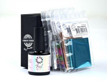 Urban Nails Foil Box + Foil Gel 2.0