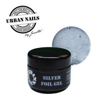 Urban Nails Folie Gel Silver