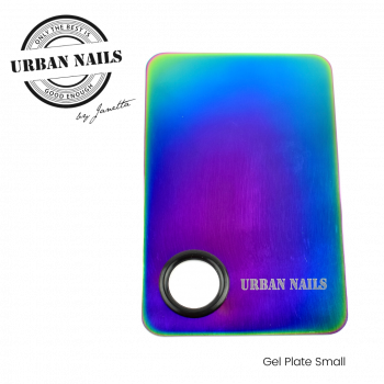 Urban Nails Gel Plate Small Blue