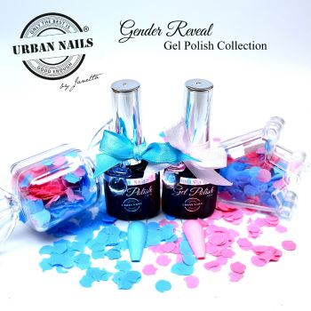 Urban Nails Gender Reveal Gelpolish Collection