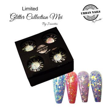 Urban Nails Limited May Glitter Collection
