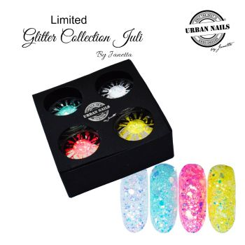 Urban Nails Limited Juli Glitter Collection