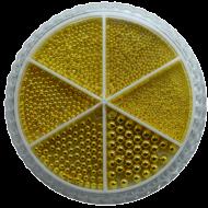 Urban Nails Caviar Beads Wheel Gold