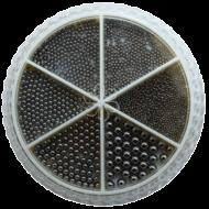 Urban Nails Caviar Beads Wheel Gunmetal Black