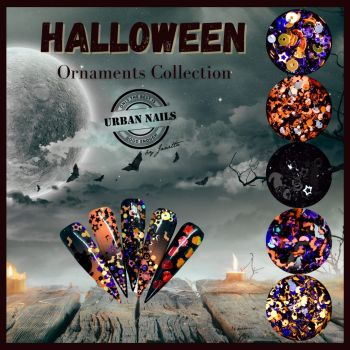Urban Nails Halloween Ornaments Collection