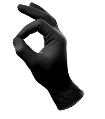 Handschoenen L Zwart 100st
