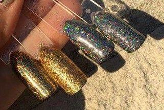 Urban Nails Holo Flakes Set