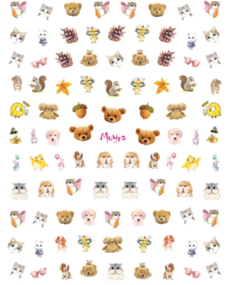 Moyra Matrica Nail Art Sticker Kids 2
