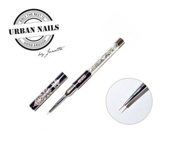 Urban Nails Exclusive Kolinsky Fine Liner Nail Art #000