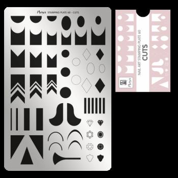 Moyra Stempelplaat 60 Cuts