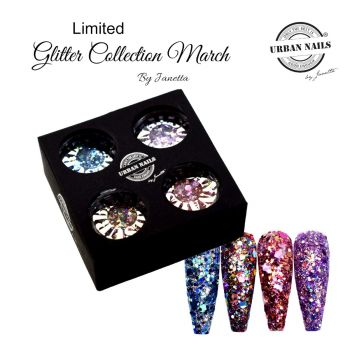 Urban Nails Limited March Glitter Collection