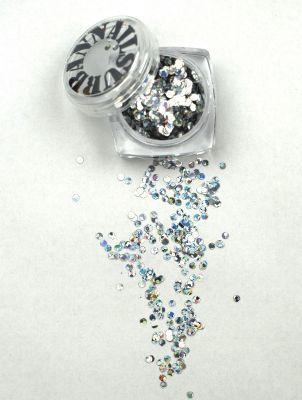 Urban Nails Mardi Gras Glitter 01