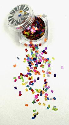 Urban Nails Mardi Gras Glitter 12