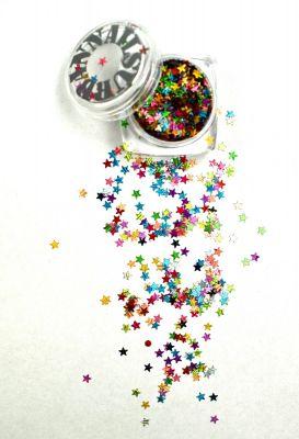 Urban Nails Mardi Gras Glitter 13