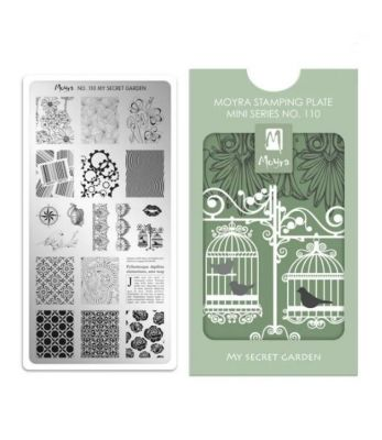 Moyra Stempelplaat Mini 110 My Secret Garden