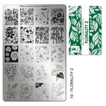 Moyra Stempelplaat 10 Florality-2