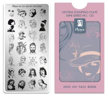 Moyra Stempelplaat Mini 125 Join My Face Book