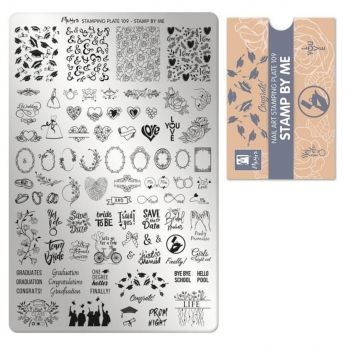 Moyra Stempelplaat 109 Stamp By Me