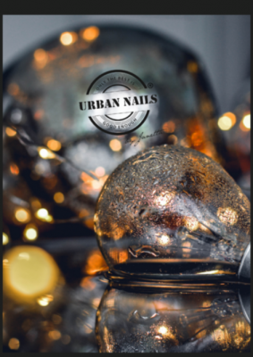 Urban Nails Poster A5 Lights & Boomstam