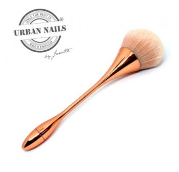 Urban Nails Dust Brush Rosé Gold