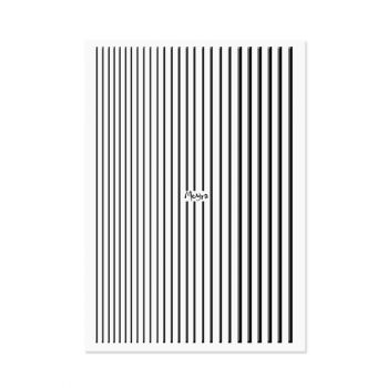 Moyra Nail Art Strips 05 Black
