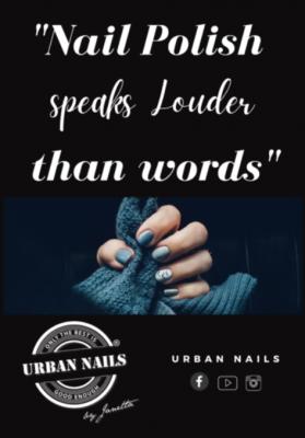 Urban Nails Poster A4 Nail Polish