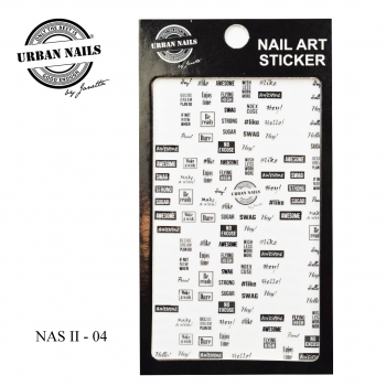 Urban Nails Nail Art Sticker II 04