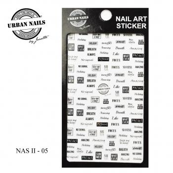 Urban Nails Nail Art Sticker II 05