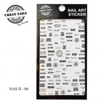 Urban Nails Nail Art Sticker II 06