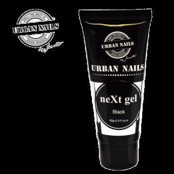 Urban Nails NeXt Gel Tube Black 60 gram