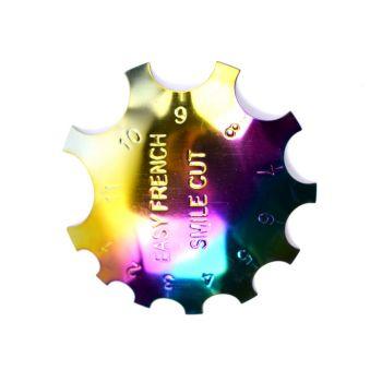 Urban Nails Rainbow Frech Smile Cutter 01