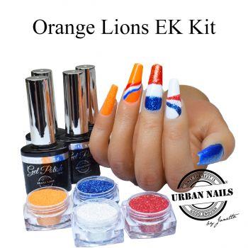 Urban Nails Orange Lions EK Voetbal Set