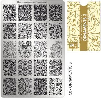 Moyra Stempelplaat 50 Ornaments-3