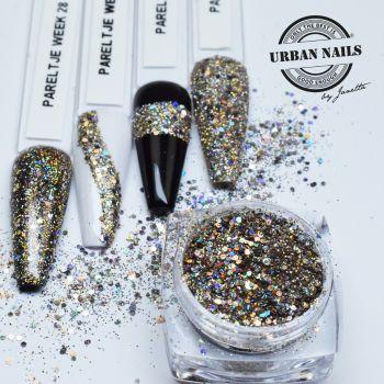 Urban Nails Gold Glitter / Pareltje Week 28
