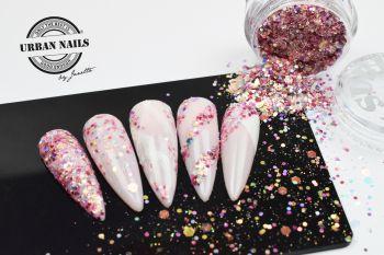 Urban Nails Antique Rose Glitter / Pareltje Week 32