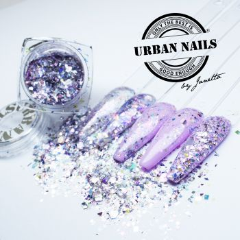 Urban Nails Lila Mix / Pareltje Week 12