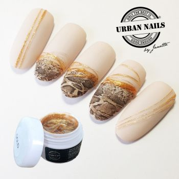 Urban Nails Spidergel Gold / Pareltje Week 19