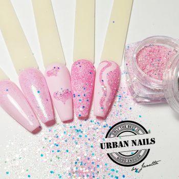 Urban Nails Pink Mix / Pareltje Week 16