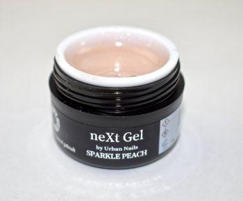 Urban Nails neXt Gel Sparkle Peach 15ml