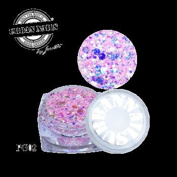 Urban Nails PiXie Glitter 02