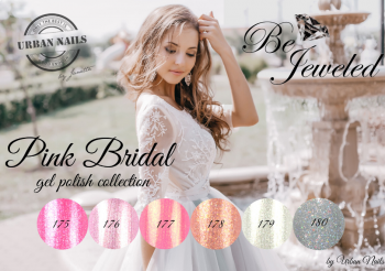 Urban Nails Be Jeweled Pink Bridal Collection