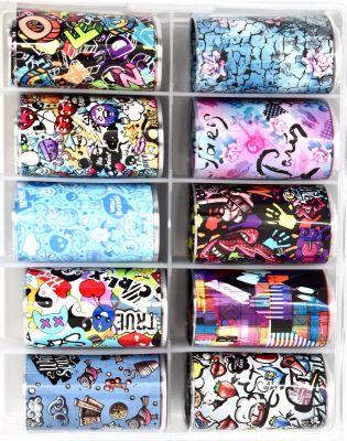 Urban Nails Foil Box Popart