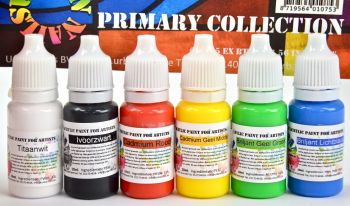 Urban Nails Pure Paint Primary Collection