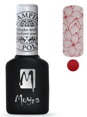 Moyra Stempel Gelpolish 06 Red