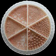 Urban Nails Caviar Beads Wheel Rosé Gold