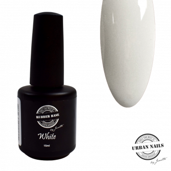 Urban Nails Rubber Base Gel White