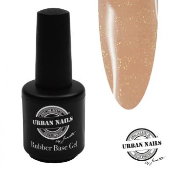 Urban Nails Rubber Base Gel Salmon Gold