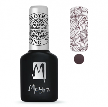Moyra Stempel Gelpolish 09 Brown