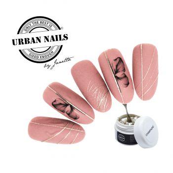Urban Nails Spidergel Champagne / Pareltje Week 22